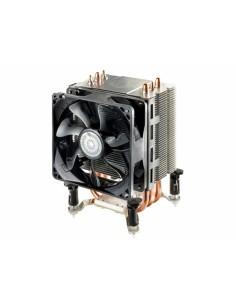 Cooler Master Hyper TX3 EVO Suoritin Jäähdytin 9.2 cm Musta, Hopea Cooler Master RR-TX3E-22PK-R1 - 1