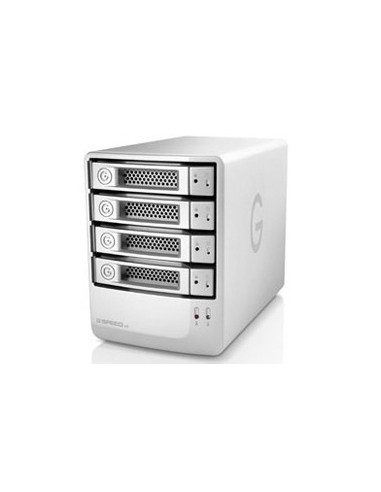 G-Technology G-SPEED eS levyjärjestelmä 8 TB Työpöytä Hopea G-technology 0G01872 - 1