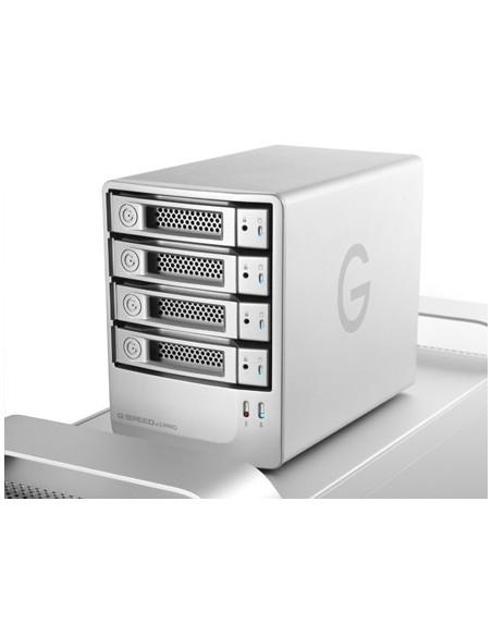 G-Technology G-SPEED eS Pro levyjärjestelmä 8 TB Työpöytä Hopea G-technology 0G01874 - 3