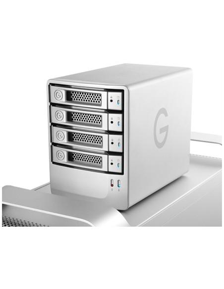 G-Technology G-SPEED eS levyjärjestelmä 12 TB Työpöytä Hopea G-technology 0G02056 - 4