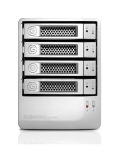 G-Technology G-SPEED eS Pro levyjärjestelmä 12 TB Työpöytä Hopea G-technology 0G02058 - 1