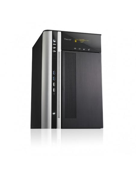 Thecus N8850 NAS- ja tallennuspalvelimet i3-2120 Tower Musta Thecus N8850 - 4