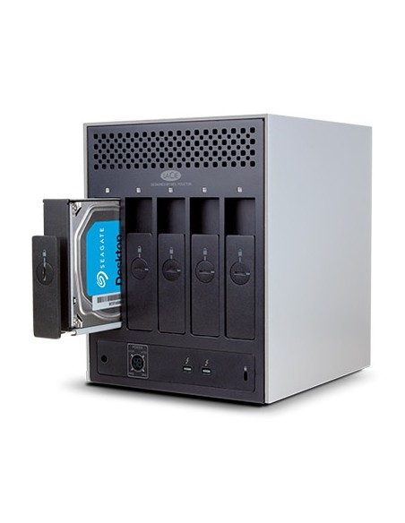 LaCie 5big Thunderbolt 2 levyjärjestelmä 10 TB Työpöytä Valkoinen Lacie STFC10000400 - 5