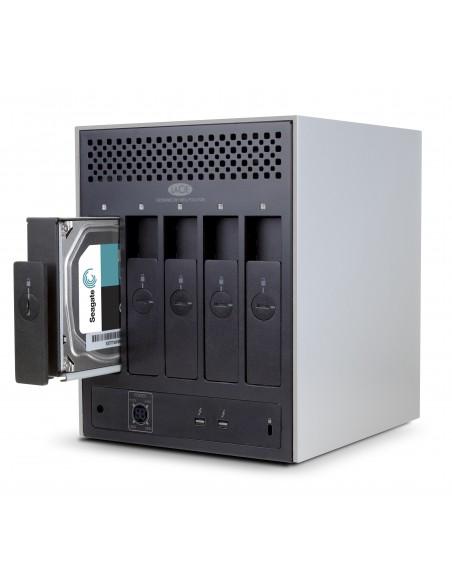 LaCie 5big Thunderbolt 2 levyjärjestelmä 20 TB Työpöytä Alumiini Lacie STFC20000400 - 3