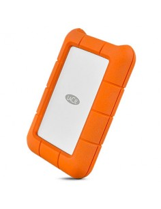 LaCie Rugged USB-C ulkoinen kovalevy 1000 GB Oranssi, Hopea Lacie STFR1000800 - 1