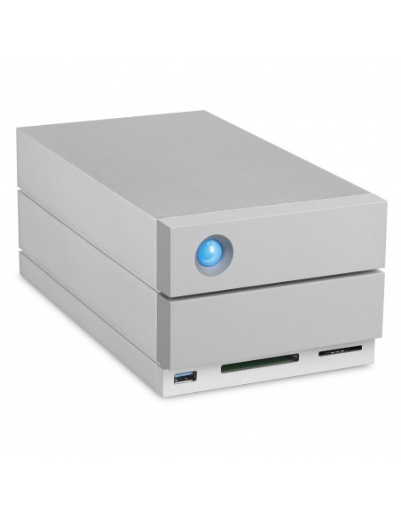 LaCie 2big Dock Thunderbolt 3 16TB levyjärjestelmä Työpöytä Hopea Lacie STGB16000400 - 6