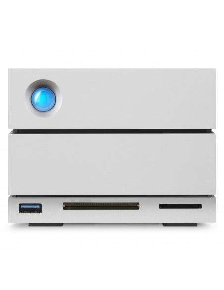 LaCie 2big Dock Thunderbolt 3 16TB levyjärjestelmä Työpöytä Hopea Lacie STGB16000400 - 9