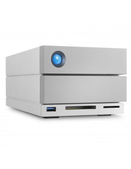 LaCie 2big Dock Thunderbolt 3 levyjärjestelmä 20 TB Työpöytä Harmaa Lacie STGB20000400 - 4
