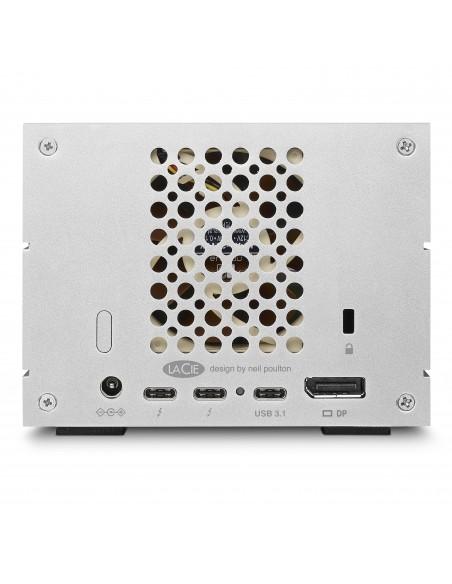 LaCie 2big Dock Thunderbolt 3 levyjärjestelmä 20 TB Työpöytä Harmaa Lacie STGB20000400 - 9
