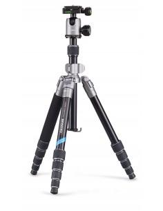 Cullmann MUNDO 522T kolmijalka Digitaalinen ja elokuva-kamerat 3 jalkoja Musta, Hopea Cullmann 55451 - 1