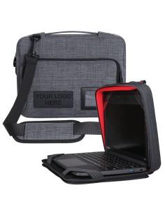 "NutKase Always On 11"" Big Pocket laukku kannettavalle tietokoneelle 27.9 cm (11"") Salkku Harmaa Nutkase Options NK051GR-EL-CS -"