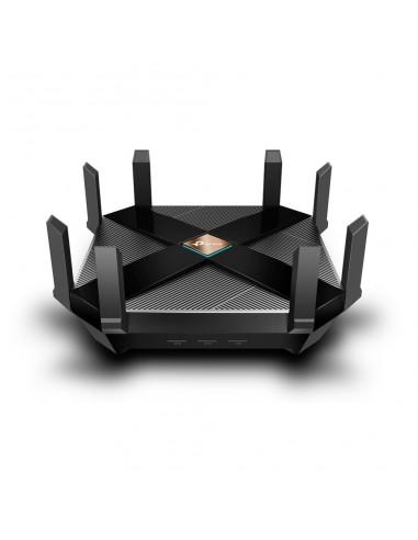 TP-LINK AX6000 langaton reititin Kaksitaajuus (2,4 GHz/5 GHz) Gigabitti Ethernet Musta Tp-link ARCHER AX6000 - 1