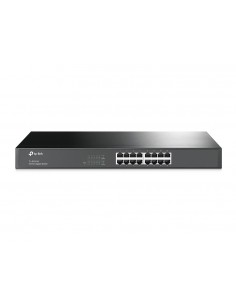 TP-LINK TL-SG1016 verkkokytkin Hallittu L2 Gigabit Ethernet (10/100/1000) Musta Tp-link TL-SG1016 - 1