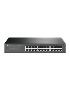 TP-LINK TL-SG1024D verkkokytkin Hallitsematon Gigabit Ethernet (10/100/1000) Harmaa Tp-link TL-SG1024D - 1