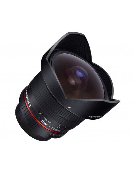 Samyang 8mm F3.5 UMC Fish-Eye CS II SLR Laajakulmaobjektiivi Musta Samyang 21507 - 3