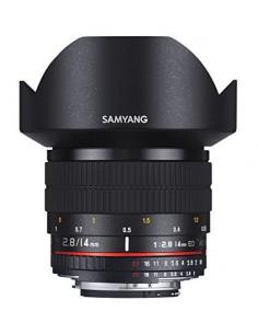 Samyang 14mm F2.8 ED AS IF UMC MILC Ultralaajakulmaobjektiivi Musta Samyang 21524 - 1