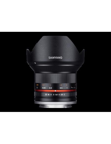 Samyang F 2/12 Ncs Cs Black Fuji X Samyang 21574 - 4