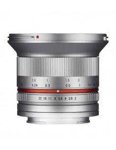 Samyang 12mm F2.0 NCS CS SLR Laajakulmaobjektiivi Hopea Samyang 21575 - 1