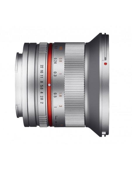 Samyang 12mm F2.0 NCS CS SLR Laajakulmaobjektiivi Hopea Samyang 21575 - 2