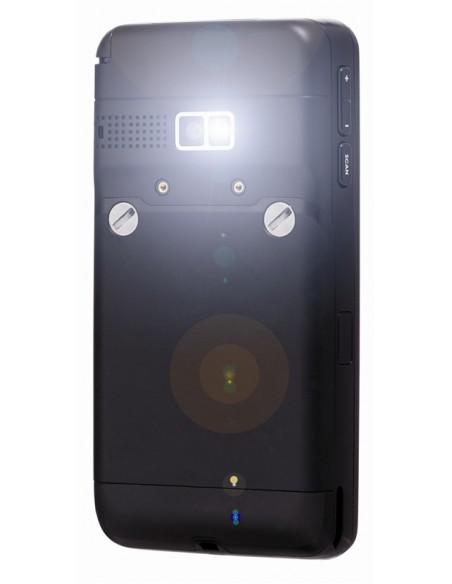 """Opticon H22-2D mobiilitietokone 9,4 cm (3.7"""") 480 x 640 pikseliä Kosketusnäyttö 340 g Musta Opticon 12755 - 3"""