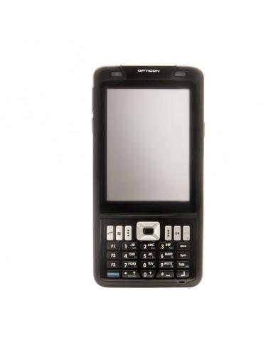 """Opticon H-22 2D mobiilitietokone 9.4 cm (3.7"""") 480 x 640 pikseliä Kosketusnäyttö Musta Opticon 12757 - 1"""
