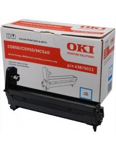 OKI Cyan image drum for C5850/5950 Alkuperäinen Oki 43870023 - 1