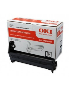 OKI Black image drum for C5850/5950 Alkuperäinen Oki 43870024 - 1