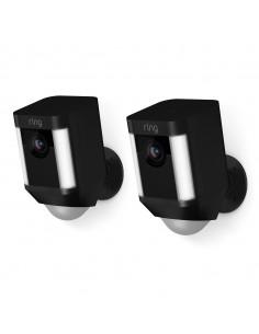 Ring Spotlight Cam Battery IP-turvakamera Sisätila Laatikko Seinä Ring 8X81X7-BEU0 - 1