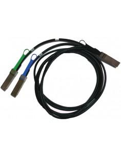 Mellanox Technologies MCP7H50-H002R26 InfiniBand-kaapeli 2 m QSFP56 2x Musta Mellanox Hw MCP7H50-H002R26 - 1