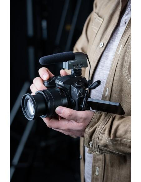 Sennheiser MKE 400 Digital camcorder microphone Musta Sennheiser 502047 - 2