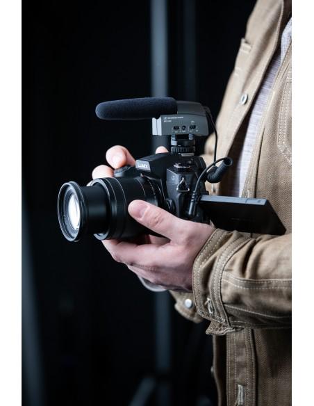 Sennheiser MKE 400 Digital camcorder microphone Musta Sennheiser 502047 - 3