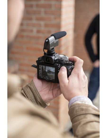 Sennheiser MKE 400 Digital camcorder microphone Musta Sennheiser 502047 - 4