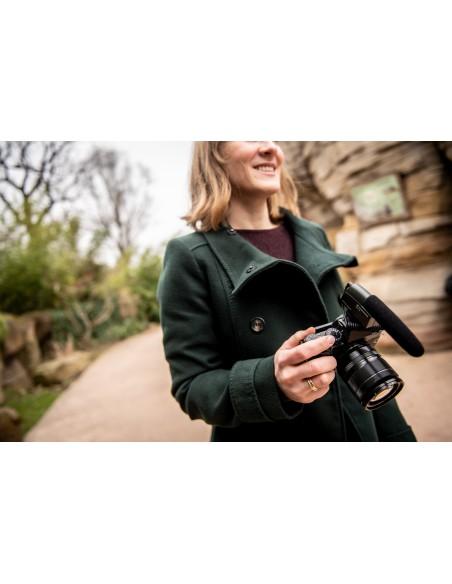 Sennheiser MKE 400 Digital camcorder microphone Musta Sennheiser 502047 - 18