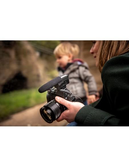 Sennheiser MKE 400 Digital camcorder microphone Musta Sennheiser 502047 - 19