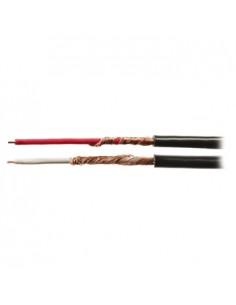 Valueline 2x 0.14 mm², 100m audiokaapeli Musta Valueline VLAR26501B100 - 1