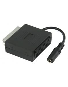 Valueline VLVP31930B02 kaapeli liitäntä / adapteri Scart + 3.5mm Musta Valueline VLVP31930B02 - 1