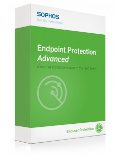 Sophos Endpoint Protection Advanced 1 lisenssi(t) Uusiminen Sophos EP2G1CTAA - 1