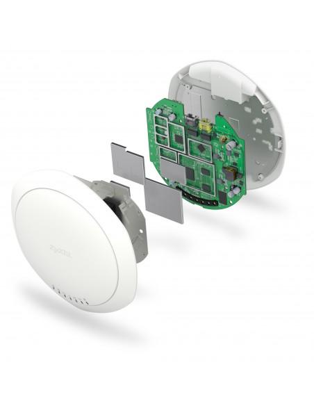 Zyxel NWA1123-AC PRO 3-pack 1300 Mbit/s Power over Ethernet -tuki Valkoinen Zyxel NWA1123ACPRO-EU0102F - 8
