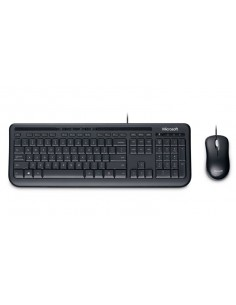 Microsoft 600 tangentbord USB QWERTZ tyska Svart Microsoft 3J2-00013 - 1
