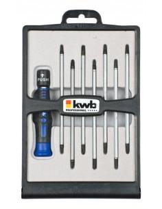 kwb 146600 käsikäyttöinen ruuvimeisseli Monikärkinen Tarkkuusruuvimeisseli Kwb 146600 - 1