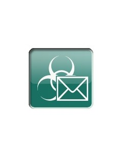 Kaspersky Lab Security for Mail Server, 20-24U, 1Y, Base 20 lisenssi(t) 1 vuosi/vuosia Kaspersky KL4313XANFS - 1