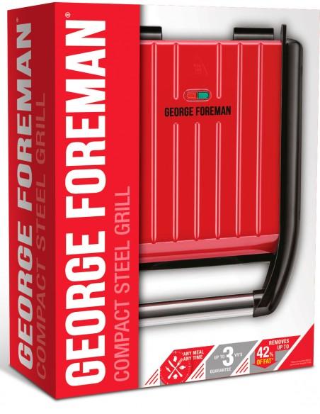 George Foreman Family Steel Red pöytägrilli George Foreman 23751036001 - 2