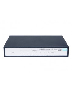 Hewlett Packard Enterprise OfficeConnect 1420 8G Ohanterad L2 Gigabit Ethernet (10/100/1000) 1U Grå Hp JH329A#ABB - 1
