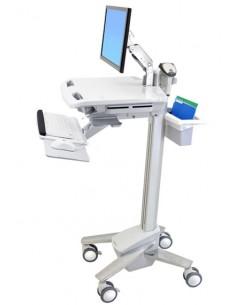 Ergotron StyleView EMR cart with LCD Arm White Flat panel Multimedia Ergotron SV41-6200-0 - 1