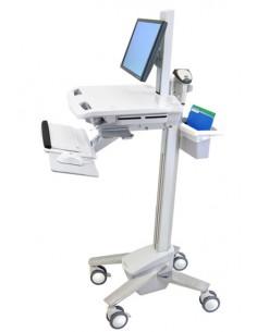 Ergotron StyleView EMR Cart with LCD Pivot Valkoinen Litteä paneeli Multimediakärry Ergotron SV41-6300-0 - 1