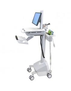 Ergotron StyleView EMR, SLA Powered, EU Aluminium, Grey, White Multimedia cart Ergotron SV42-6101-2 - 1