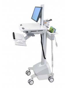 Ergotron SV42-6302-C multimedialaitteiden kärry ja teline Valkoinen PC Multimediakärry Ergotron SV42-6302-C - 1