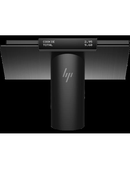 "HP Engage One 143 All-in-One 2.4 GHz i3-7100U 35.6 cm (14"") 1920 x 1080 pikseliä Kosketusnäyttö Musta Hp 6TP98EA#UUW - 14"