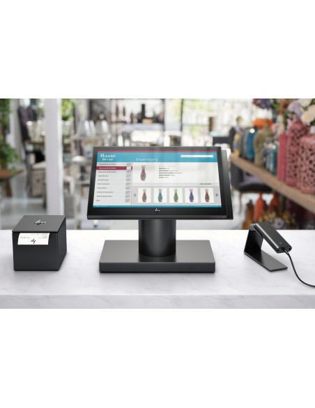 "HP Engage One 143 Allt-i-ett 2.4 GHz i3-7100U 35.6 cm (14"") 1920 x 1080 pixlar Pekskärm Svart Hp 6TP98EA#UUW - 16"