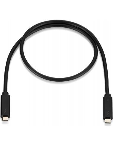 HP 3XB94AA Thunderbolt cable 0.7 m Black Hp 3XB94AA - 1